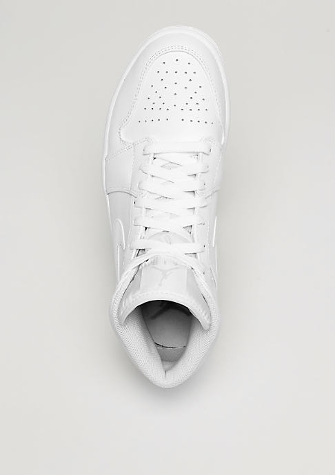 JORDAN Air Jordan 1 Mid white/pure platinum/white