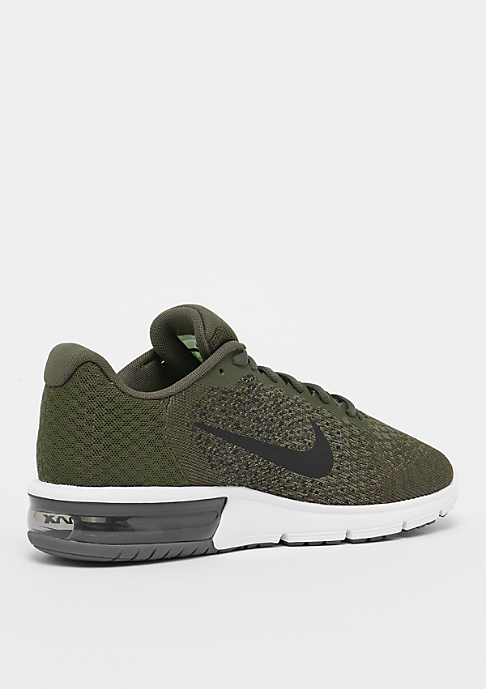 NIKE Running Air Max Sequent cargo khaki/black/medium olive/dark grey