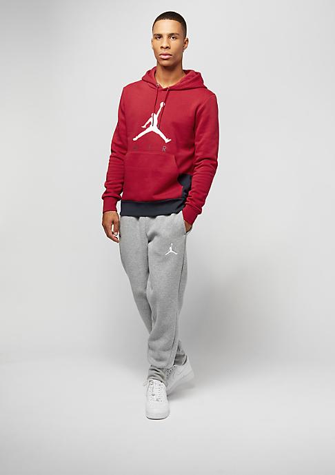 JORDAN Jumpman Air GFX Fleece gym red/obsidian/white