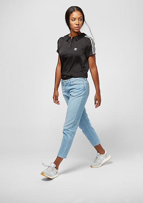 adidas 3 Stripes Polo black