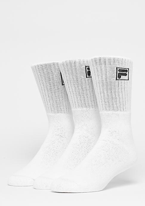 Fila Unisex Sport 3-Pack F9000 white