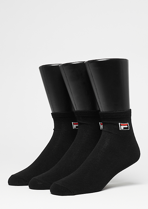 Fila Unisex Street Socks 3-Pack F9303 black