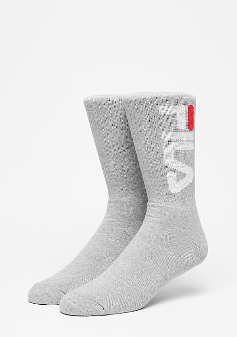 Fila Unisex Tennis Socks 2-Pair F9598 grey