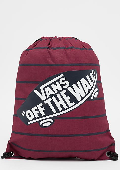 VANS Benched Novelty Bag tibetan red stripe