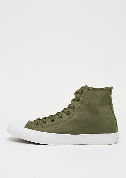 Converse Chuck Taylor All Star Cordura Hi medium olive/herbal/white