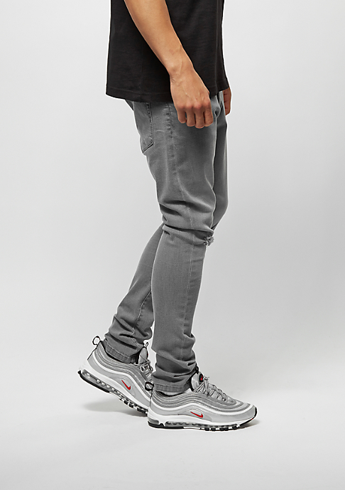 Urban Classics Slim Fit Knee Cut Denim grey