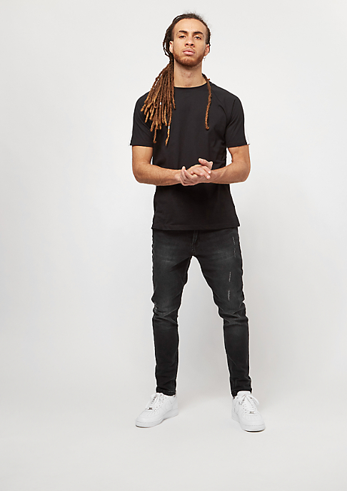Urban Classics Skinny Ripped Stretch black washed
