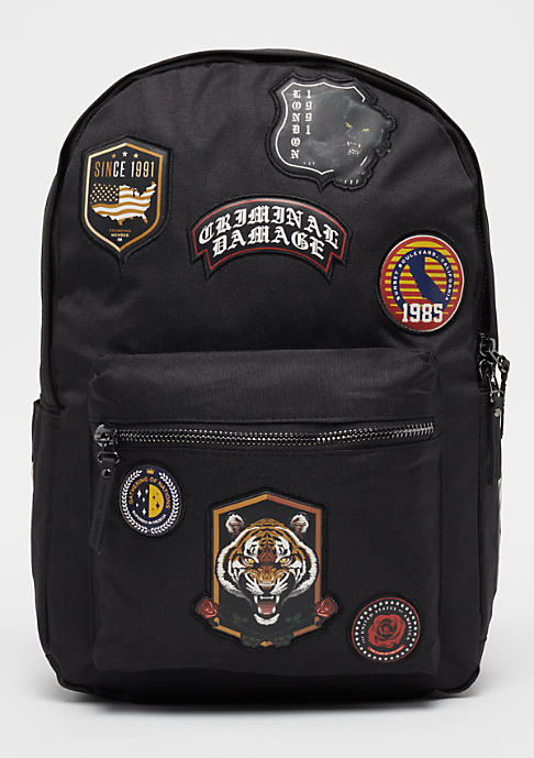 Criminal Damage Shield black/multi