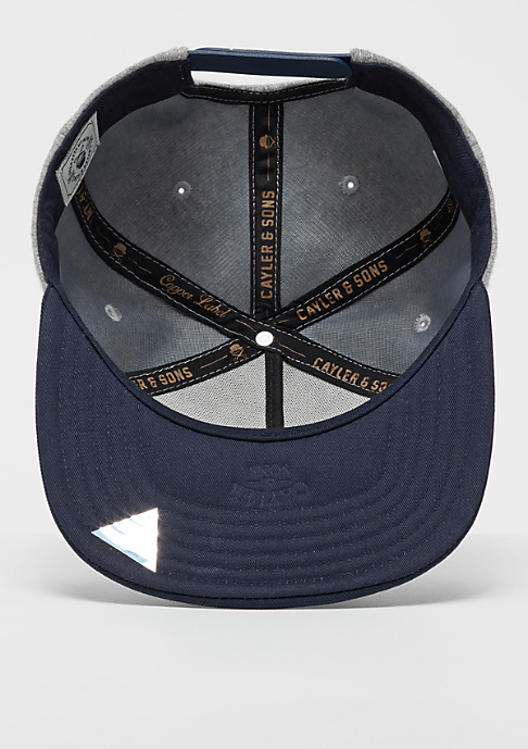 Cayler & Sons CL Cap Boxing Gym grey/heather