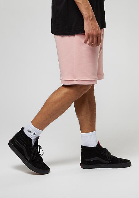 Criminal Damage Shorts Baller dusty pink