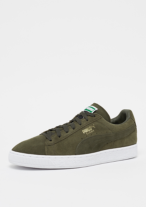 Puma Suede Classic + forest night wing