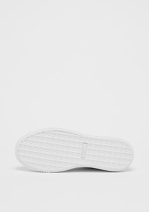 Puma Basket Platform Core white