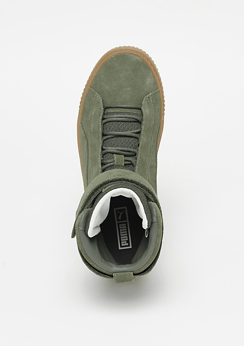 Puma Platform Mid OW olive/gum