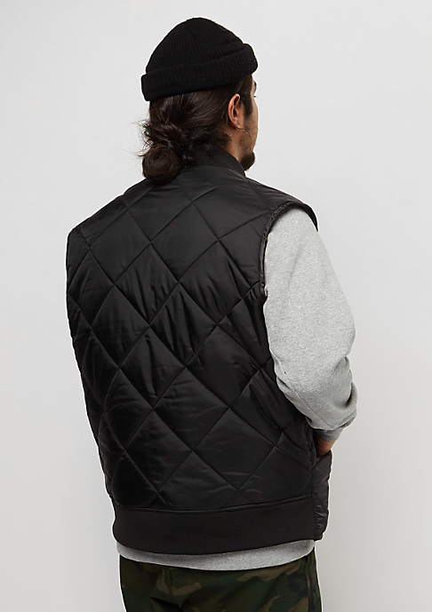 Dickies Quilted Vest black