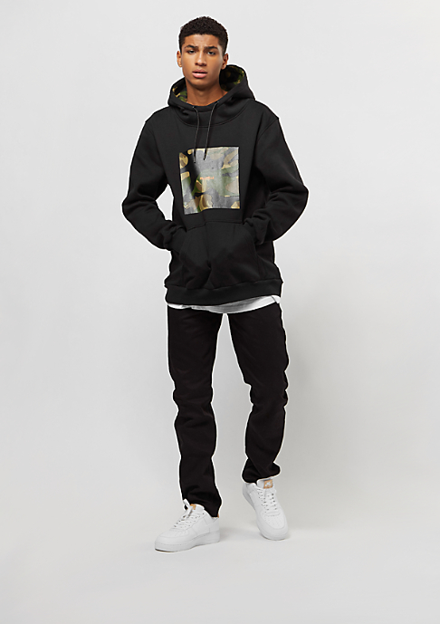 Pelle Pelle Box Camo Hoody black