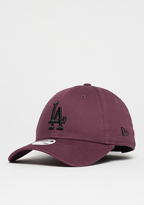 New Era Womens 9Forty MLB Los Angeles Dodgers maroon/black