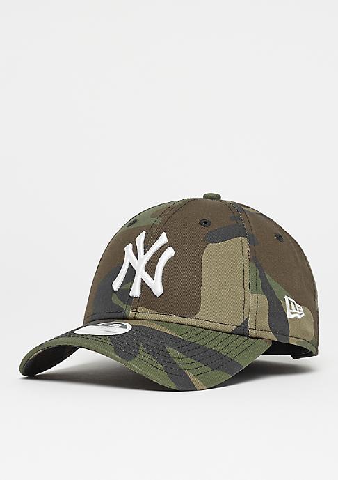 New Era Womens 9Forty New York Yankees woodland camo/optic white