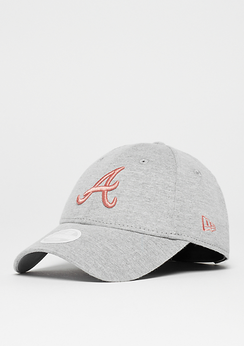 New Era Womens 9Forty MLB Atlanta Braves gray/blush
