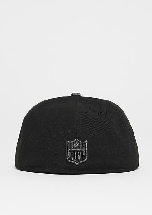 New Era 59Fifty NFL England Patriots black/graphite