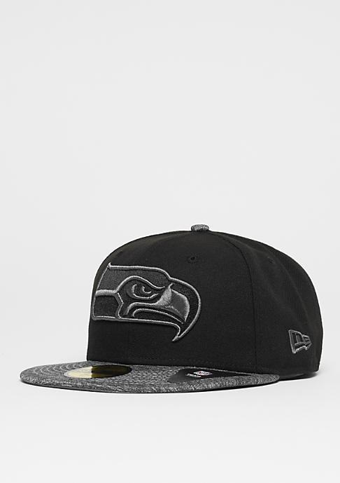 New Era 59Fifty NFL Seattle Seahawks black/graphite
