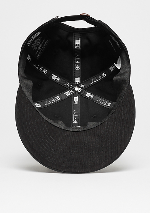 New Era 9Fifty Low Profile black