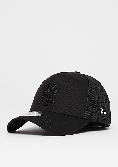 New Era 9 Forty A-Frame MLB New York Yankees black/black
