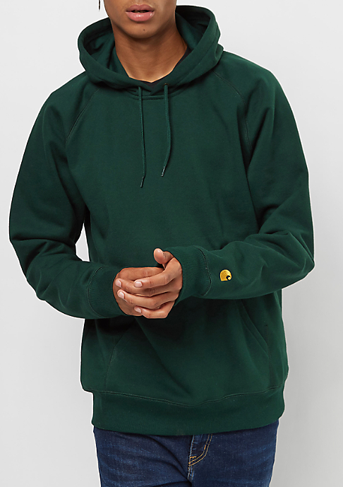 Carhartt WIP Chase dark parsley/gold