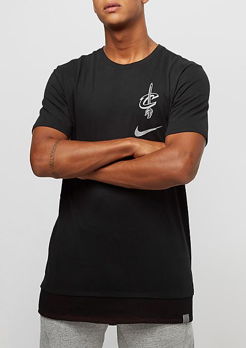 NIKE NBA Cleveland Cavaliers black/team red