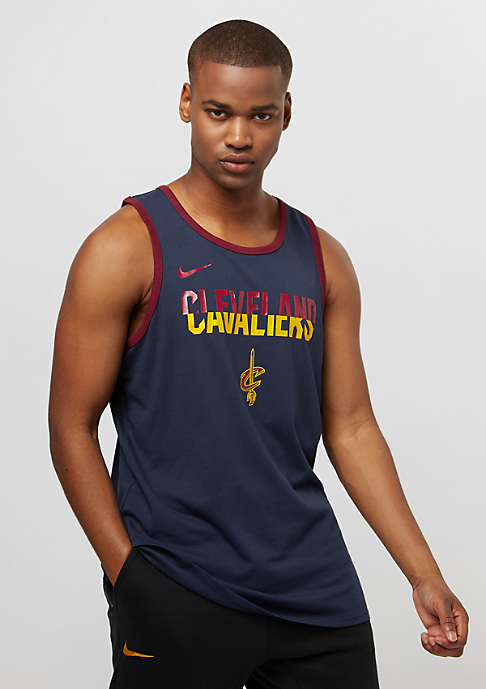 NIKE NBA Cleveland Cavaliers college navy/team red