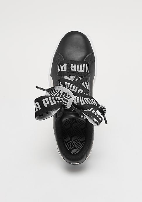 Puma Basket Heart black/white