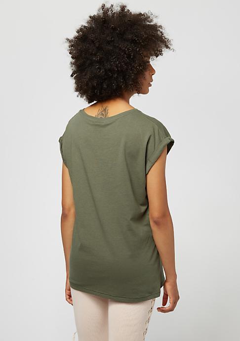 Urban Classics Extended Shoulder olive