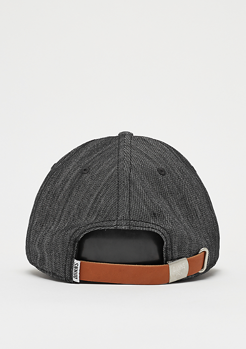 Djinn's 6P Dad Cap Denim Luck black