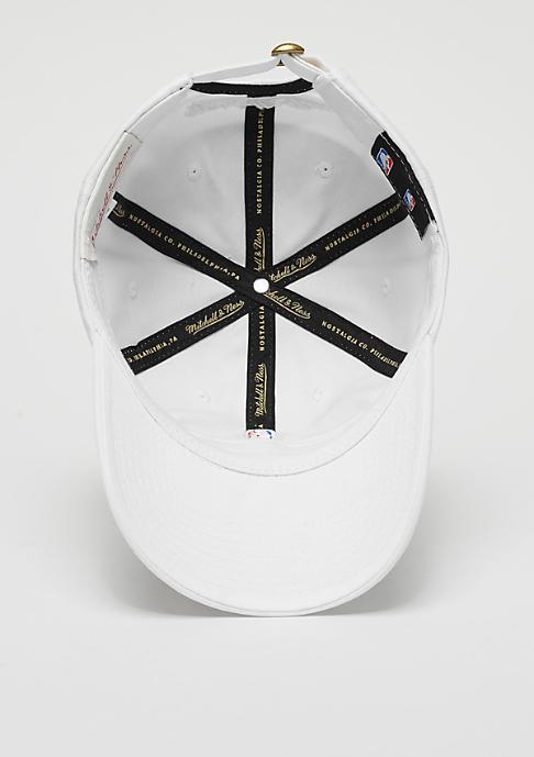 Mitchell & Ness NBA Logo Low Pro white
