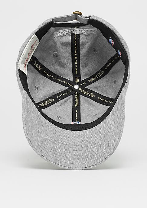 Mitchell & Ness NBA Logo Low Pro grey heather