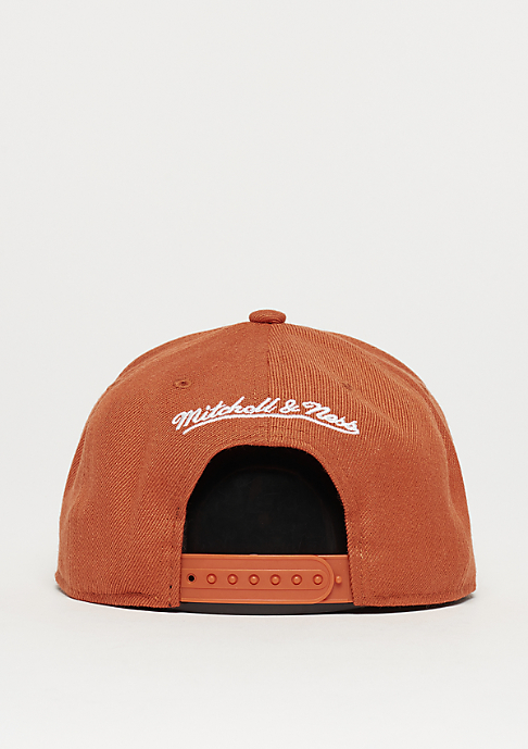Mitchell & Ness Pinscript rust