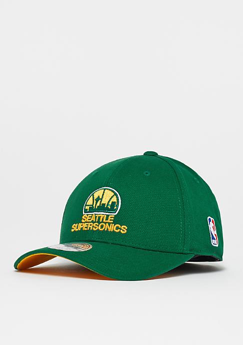 Mitchell & Ness Flexfit 110 Low Pro NBA Seattle Supersonics green