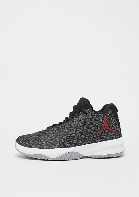 JORDAN Air Jordan B. Fly (GS) wolf grey/gyrm red-black-white
