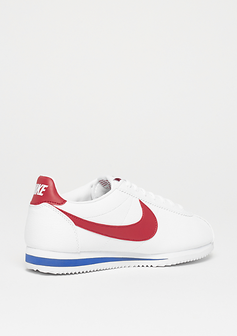 NIKE Wmns Classic Cortez Leather white/varsity red-varsity royal