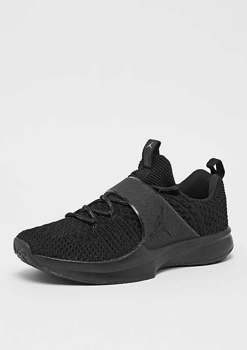 Jordan Trainer 2 Flyknit black/black/metallic silver