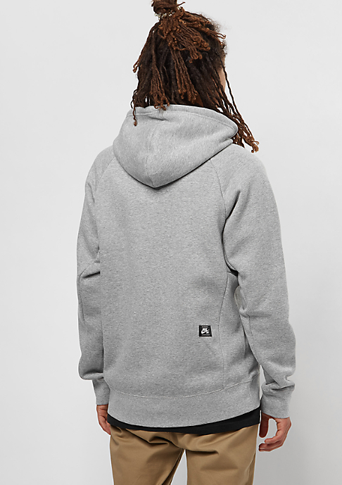 NIKE SB Icon FZ darkgrey heather/black