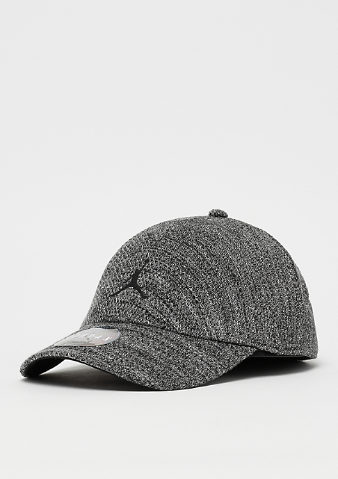 JORDAN Jumpman Knit dk grey heather/black