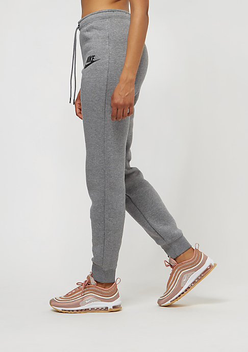 NIKE Rally Pant Tight carbon heather/cool grey/black