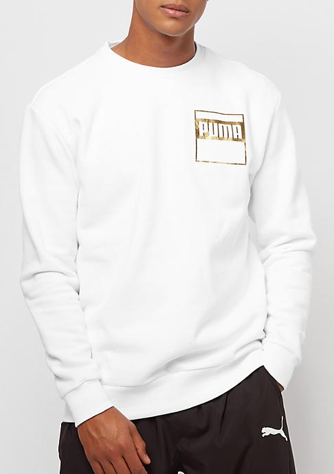 Puma Rebel Gold white