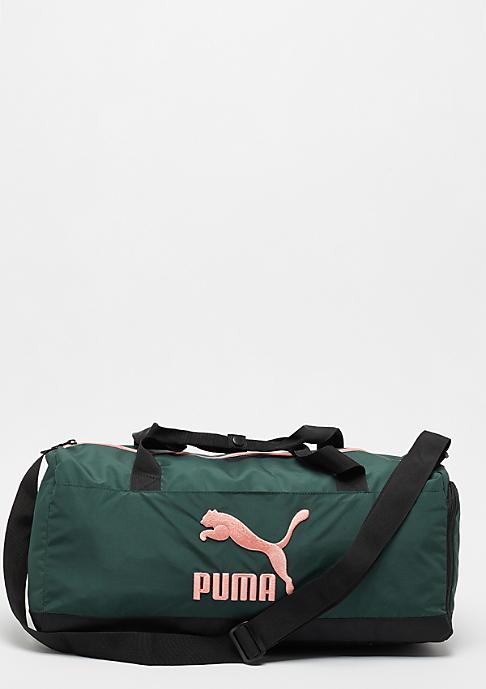 Puma Duffle green gables/coral cloud