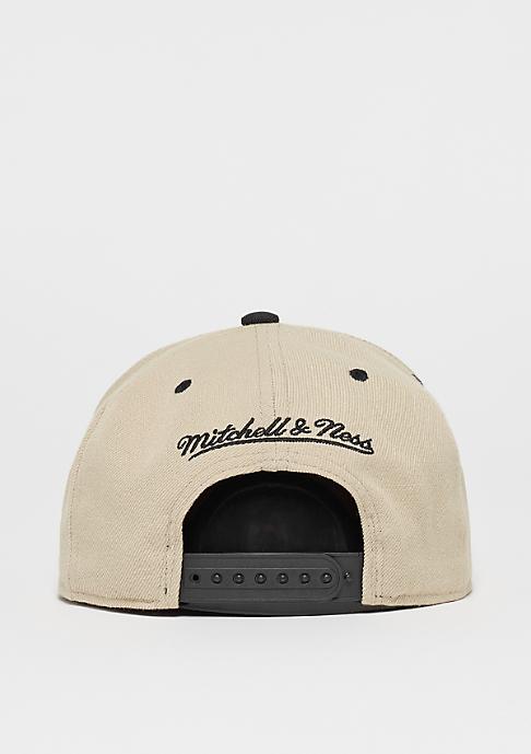 Mitchell & Ness Box Logo sand/black