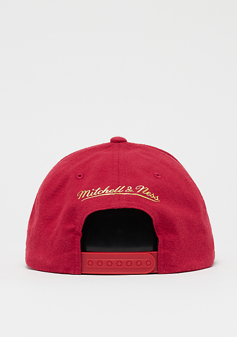 Mitchell & Ness Gum NBA Atlanta Hawks red