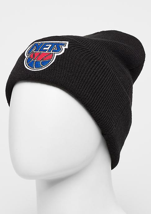 Mitchell & Ness Team Logo Cuff HWC New Jersey Nets black
