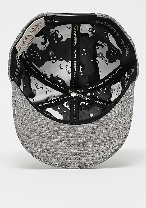 Mitchell & Ness Black & White Melange 110 black melange