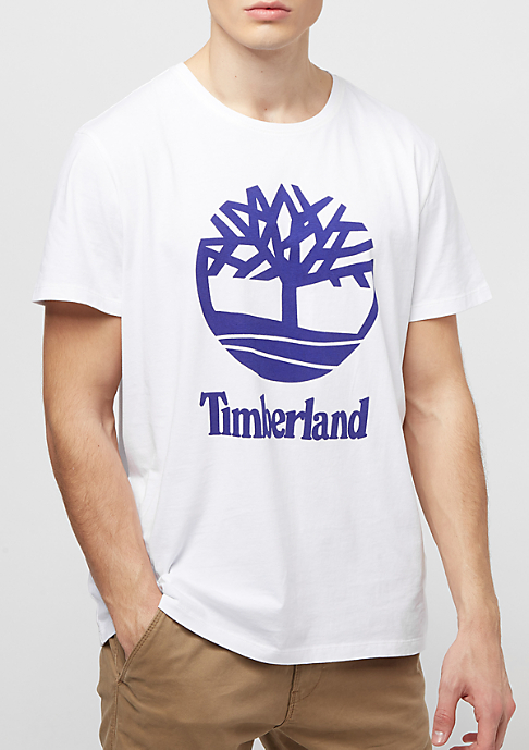 Timberland Linear Basic Staked white