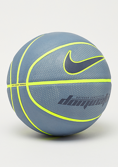 NIKE Basketball Dominate 8P (Size 7) armory blue/volt/volt